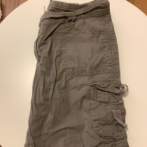 2/$20 Low rise cargo shorts